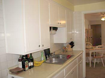 Kitchen of apartment for rent in Shorewood, WI